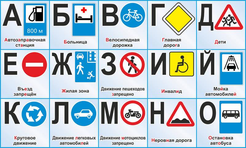 Дорожные знаки картинки для детей детского сада 5